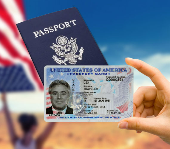 Buy Passport Card, Registered Passport Card, Apply a New Passport Card